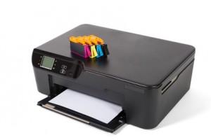 Printer med patroner